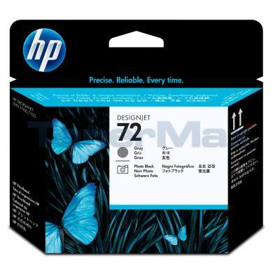 HP NO 72 PRINTHEAD GRAY/PHOTO BLACK